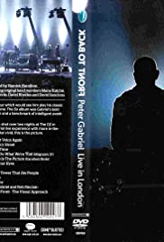 Peter Gabriel: Back to Front Poster
