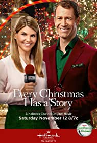 Colin Ferguson and Lori Loughlin in Every Christmas Has a Story (2016)