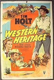 Tim Holt, Nan Leslie, and Richard Martin in Western Heritage (1948)