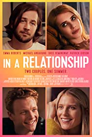 Michael Angarano, Emma Roberts, and Dree Hemingway in In a Relationship (2018)