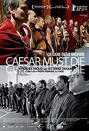 Caesar Must Die Poster