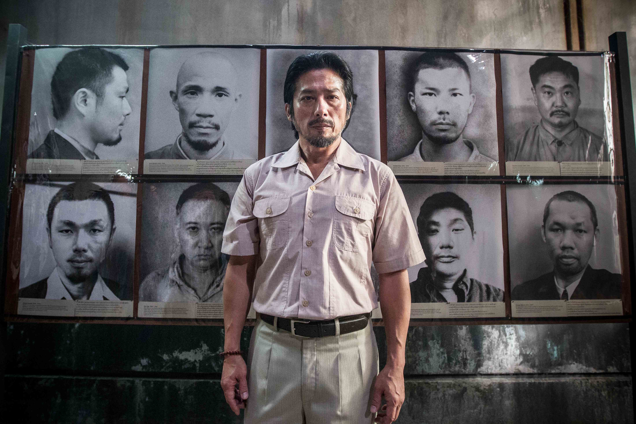 Hiroyuki Sanada in The Railway Man (2013)