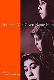 Surname Viet Given Name Nam (1989) Poster - Movie Forum, Cast, Reviews