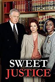 Ronny Cox, Melissa Gilbert, and Cicely Tyson in Sweet Justice (1994)