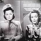 Olivia de Havilland and Jane Wyman in Princess O'Rourke (1943)