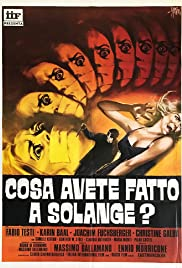 What Have You Done to Solange? (1972) Poster - Movie Forum, Cast, Reviews