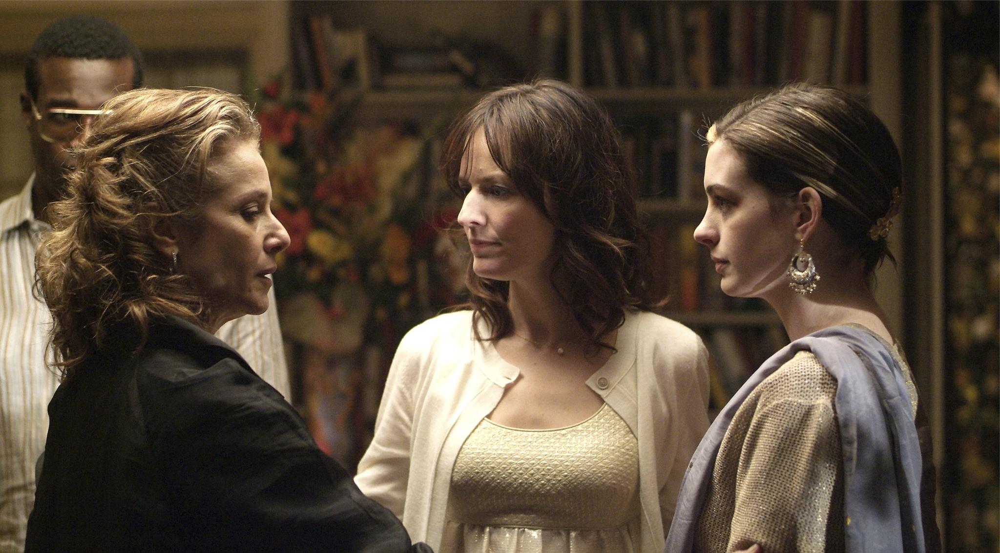 Debra Winger, Anne Hathaway, and Rosemarie DeWitt in Rachel Getting Married (2008)