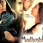 Bipasha Basu, Priyanshu Chatterjee, and John Abraham in Madhoshi (2004)