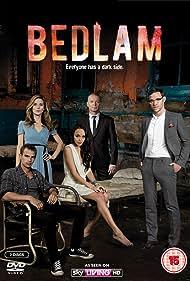 Ashley Madekwe, Hugo Speer, Charlotte Salt, Will Young, and Theo James in Bedlam (2011)