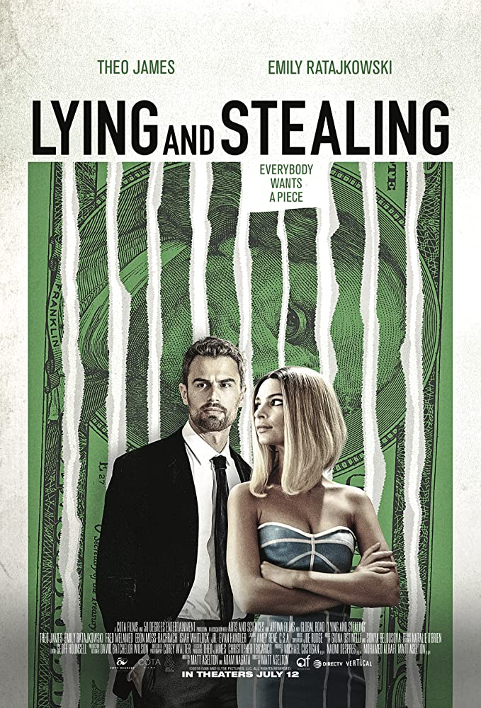 Lying and Stealing (2019) English 720p HDRip 796MB | 300MB Download