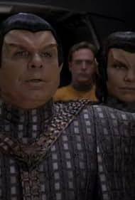 Annette Helde, Jack Shearer, and Randy James in Star Trek: Deep Space Nine (1993)