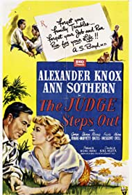 The Judge Steps Out (1949) Poster - Movie Forum, Cast, Reviews