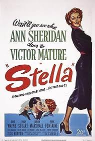 Victor Mature and Ann Sheridan in Stella (1950)