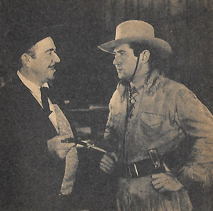 Noah Beery and Johnny Mack Brown in Fighting with Kit Carson (1933)