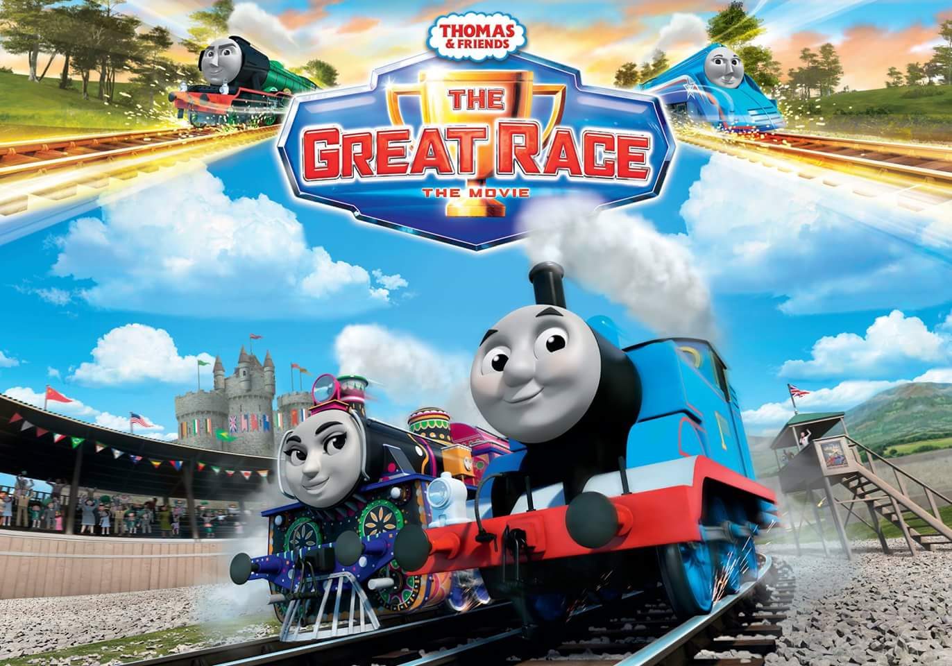 Thomas Friends The Great Race 2016 Imdb