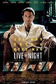 Ben Affleck, Chris Cooper, Brendan Gleeson, Chris Messina, Zoe Saldana, Sienna Miller, and Elle Fanning in Live by Night (2016)