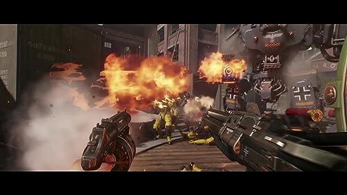 Wolfenstein II: The New Colossus: Gameplay Trailer 2 (Australian)
