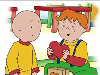 Watching dvd movies computer Springtime for Caillou [480x854]