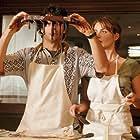 Violante Placido and Luca Argentero in Lezioni di cioccolato (2007)