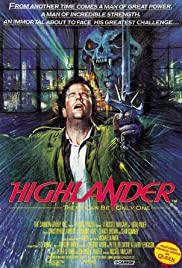 Highlander - den udødelige Poster
