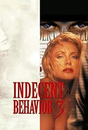 Indecent Behavior III Poster