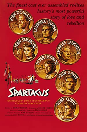 Spartacus Poster Image
