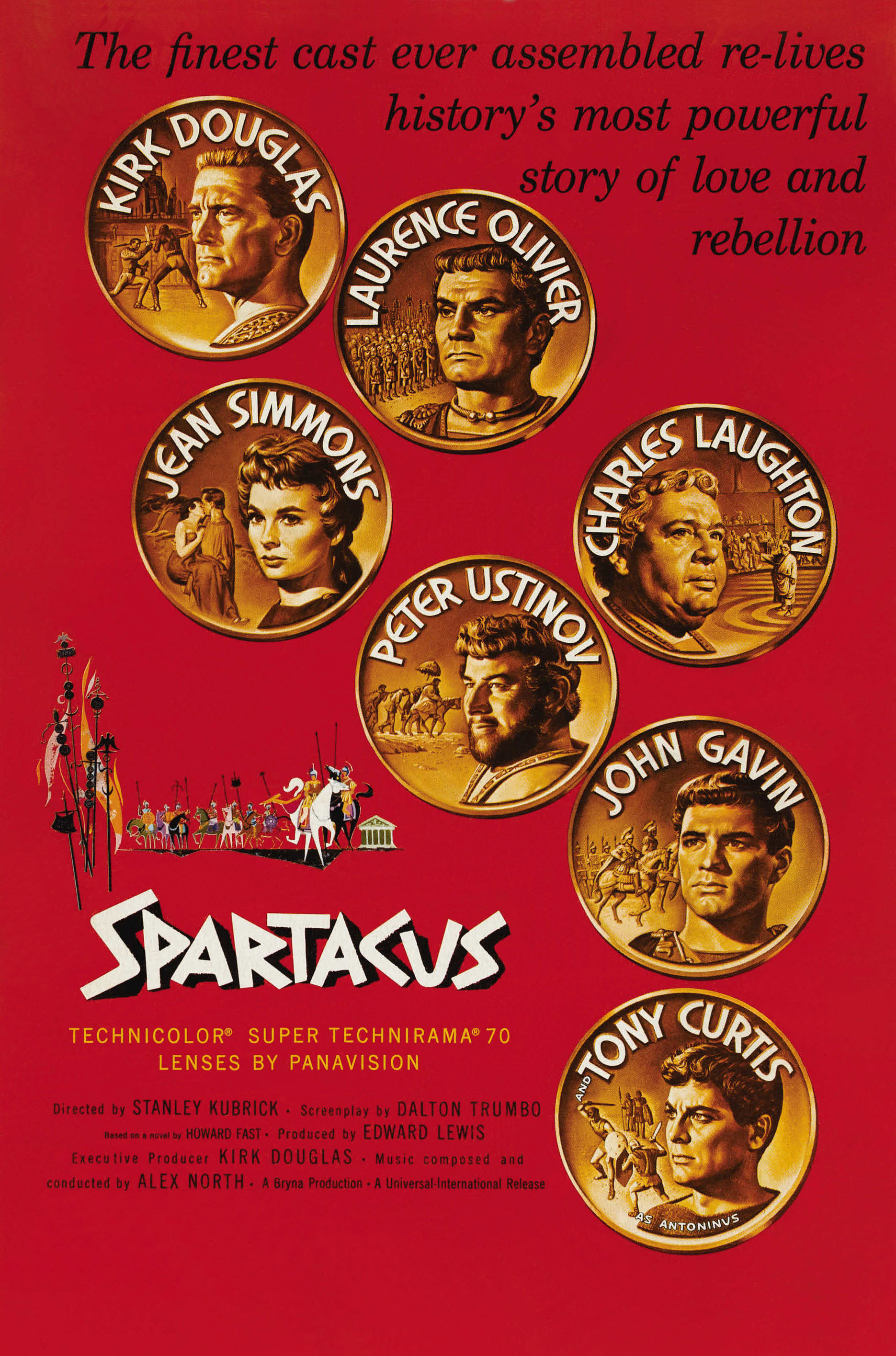 Spartacus (1960) BluRay 480p, 720p & 1080p