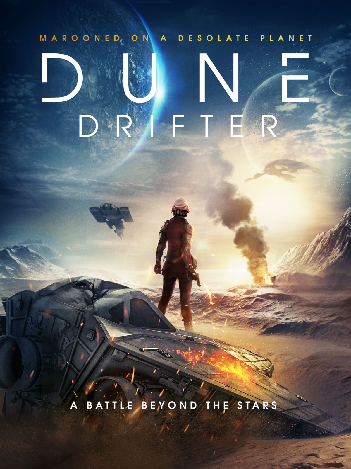 Dune Drifter (2020) English 480p HDRip 300MB Download