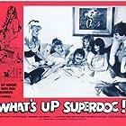Nicola Austin, Alison Begg, Anna Bergman, Maria Harper, Mary Millington, Christopher Mitchell, and Vicki Scott in What's Up Superdoc! (1978)