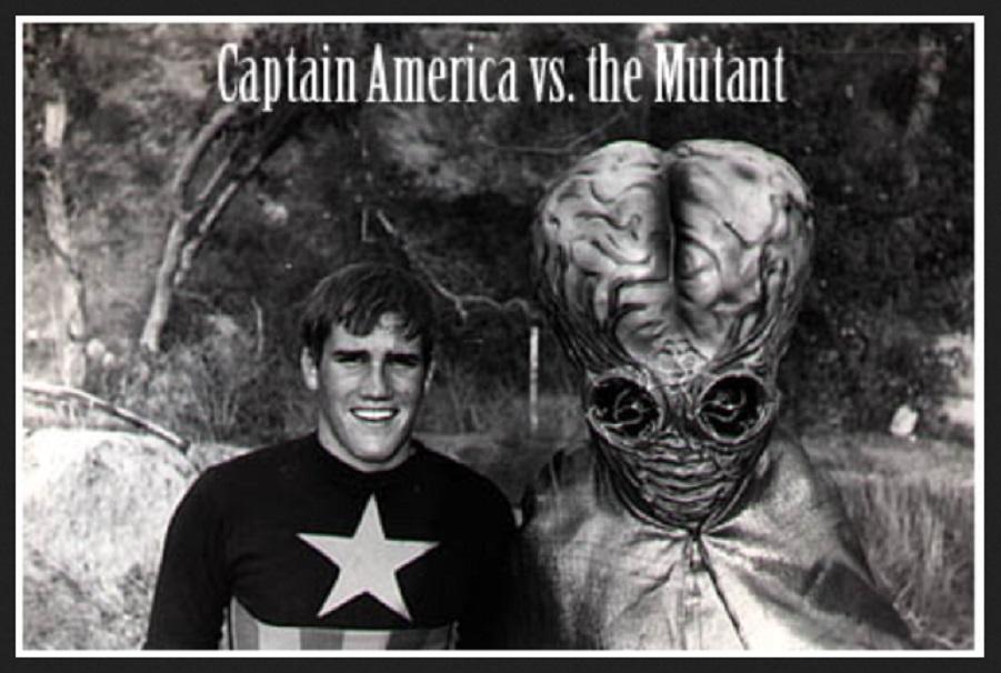 Captain America vs. The Mutant