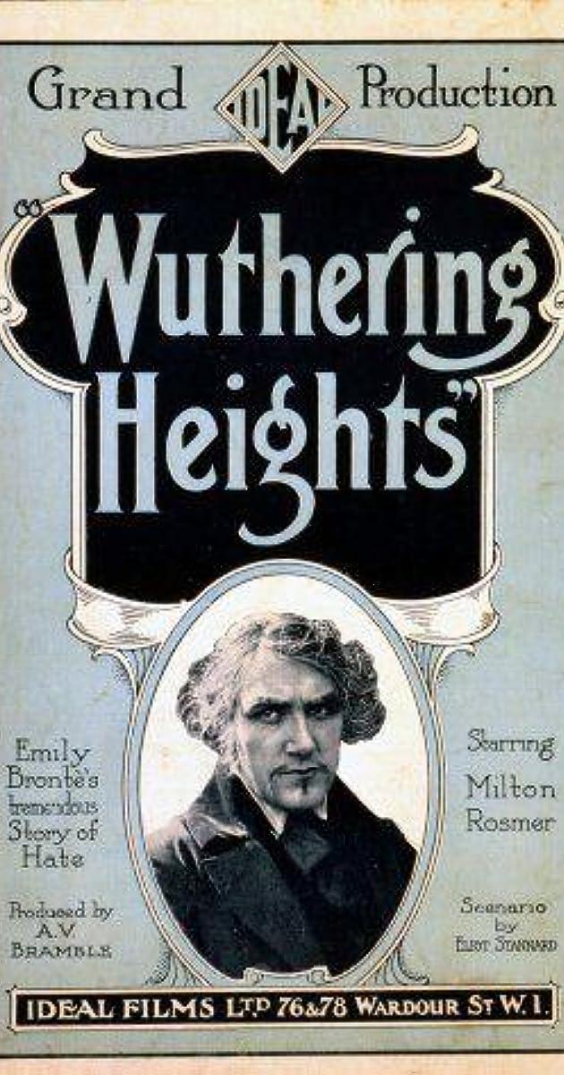 Wuthering Heights 1920 Imdb
