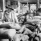 John Wayne and Patrick Wayne in The Comancheros (1961)