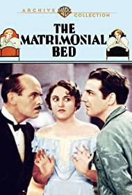 Florence Eldridge, Frank Fay, and James Gleason in The Matrimonial Bed (1930)