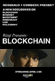 Rizqi Presents Blockchain Poster