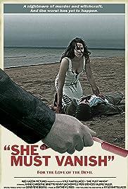 She Must Vanish Poster