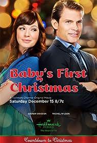 Casper Van Dien and Rachel Wilson in Baby's First Christmas (2012)