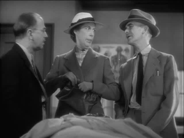James Gleason, Arthur Hoyt, and Edna May Oliver in Murder on a Honeymoon (1935)
