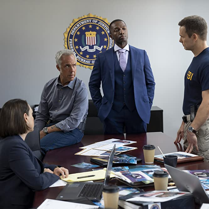 Jamie Hector and Titus Welliver in Bosch: Good People on Both Sides (2020)