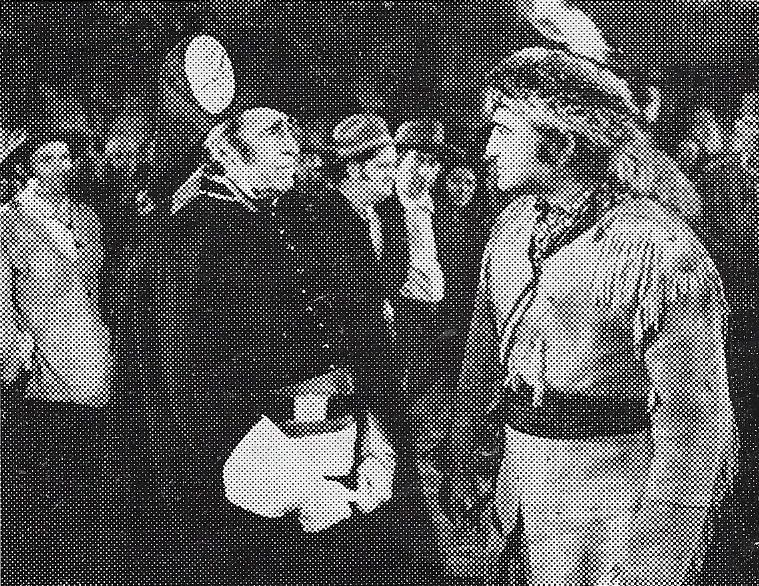 Richard Dix and Edward Ellis in Man of Conquest (1939)