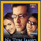 Hrithik Roshan, Esha Deol, and Saif Ali Khan in Na Tum Jaano Na Hum (2002)