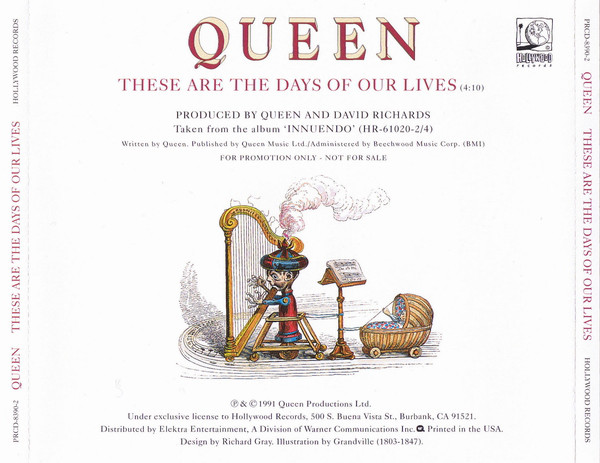 Queen: These Are the Days of Our Lives (1991)