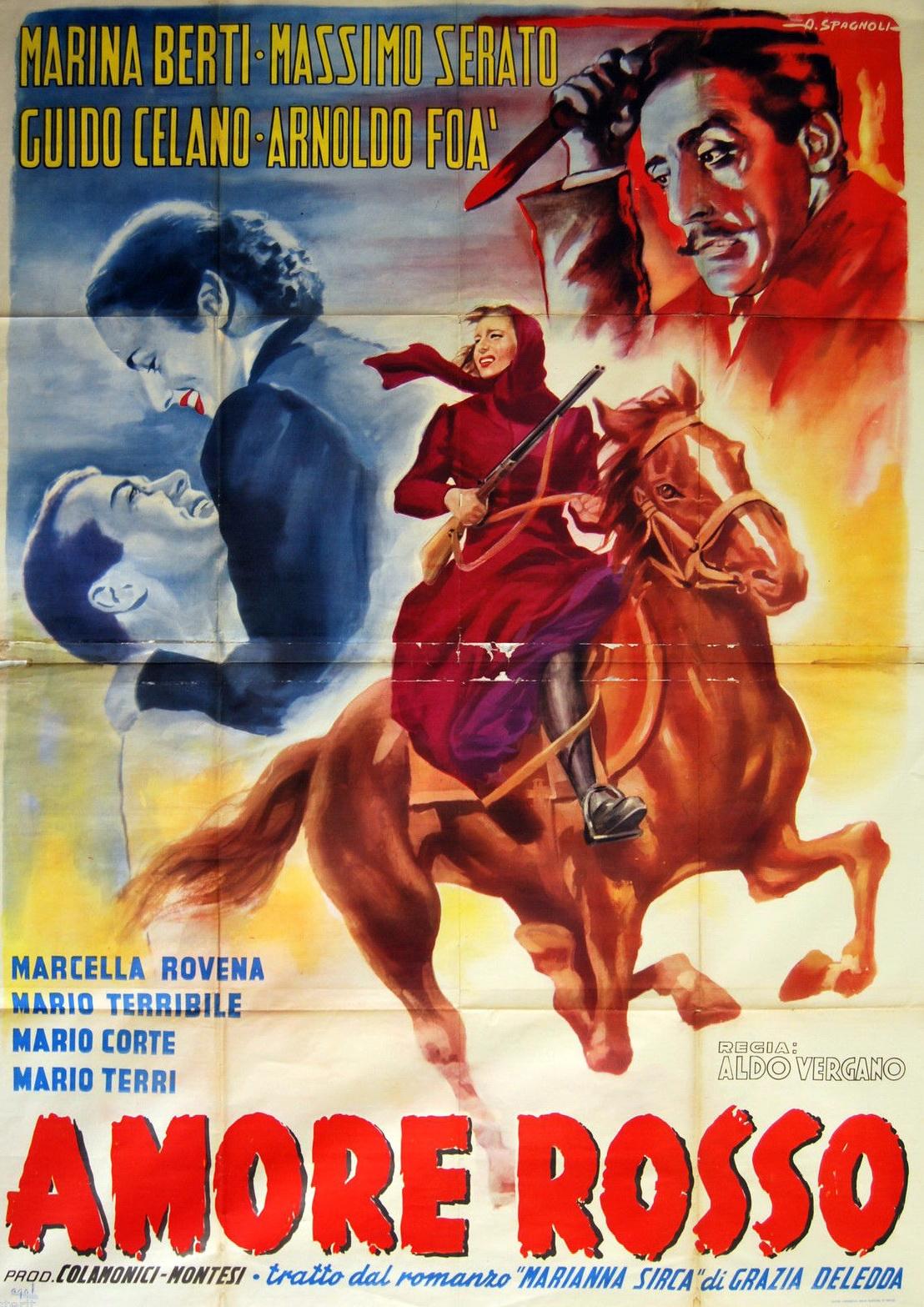 Amore rosso (Marianna Sirca) (1952)