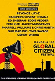 Global Citizen Festival Mandela 100 Poster