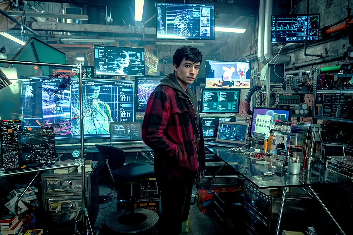 Ezra Miller in Justice League (2017)