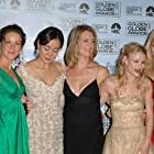 Emilie de Ravin, Yunjin Kim, Cynthia Watros, Maggie Grace, and Evangeline Lilly at an event for The 63rd Annual Golden Globe Awards 2006 (2006)