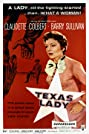 Texas Lady (1955) Poster