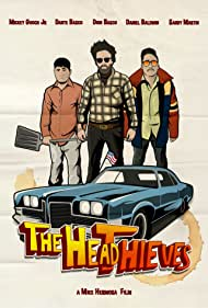 Dante Basco, Dionysio Basco, Mickey Gooch Jr., and Mike Hermosa in The Head Thieves (2018)