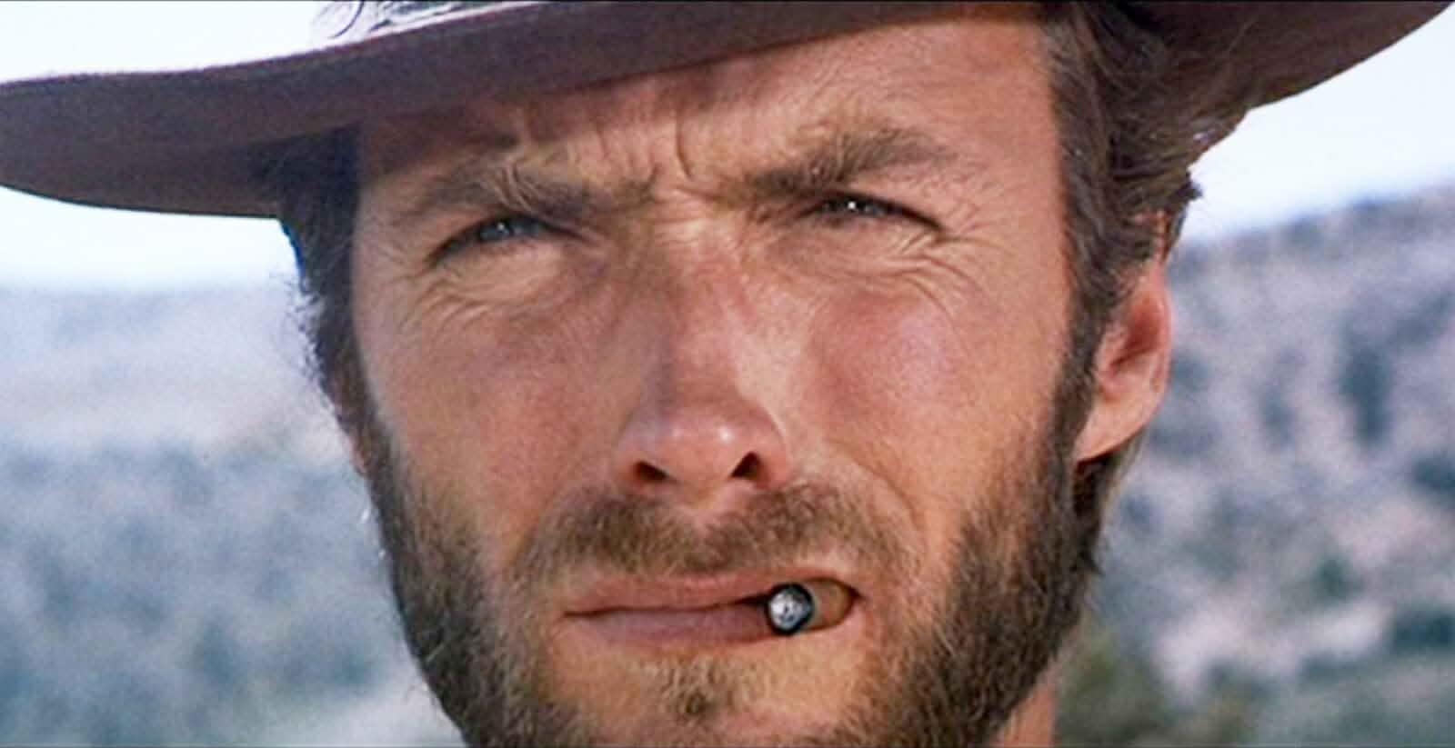 Clint Eastwood in Il buono il brutto il cattivo 1966