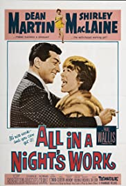 All in a Night's Work (1961) Poster - Movie Forum, Cast, Reviews
