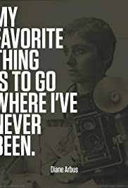 Going Where I've Never Been: The Photography of Diane Arbus Poster